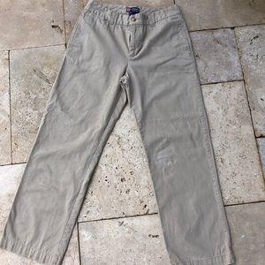 Boys Chaps Khaki Pants Size 12 Husky
